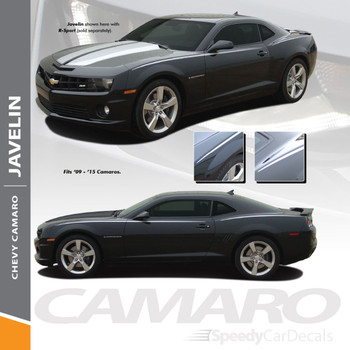 JAVELIN | Chevy Camaro Decal Stickers Side Graphics 2010-2015 Wet and Dry Install Vinyl