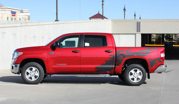 SHREDDER | Toyota Tundra Graphics Decals Stripes 2014-2018 Wet and Dry Install