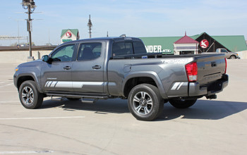 CORE | Toyota Tacoma Side Graphic Stripe Decal 3M 2015-2018 Wet & Dry Install