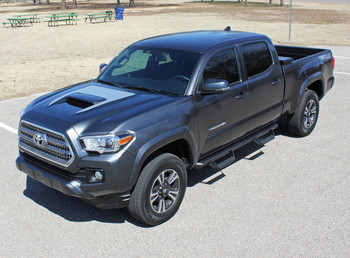 SPORT HOOD | Toyota Tacoma Hood Stripe TRD Pro 3M 2015-2018 Wet and Dry Install