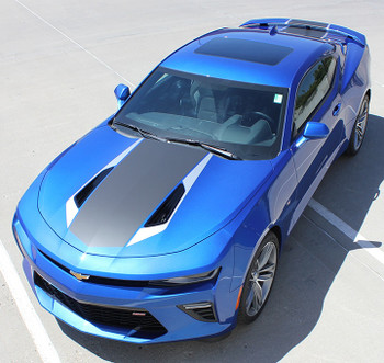 2017 Chevy Camaro Wide Center Decals 3M HERITAGE 2016-2018 Wet Install