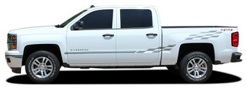 Side View Chevy Truck Stripe Kits CHAMP 2013 2014 2015 2016 2017 2018