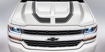 Chevy Silverado Decals FLOW Hood & Side Stripes 2016 2017 2018 Premium Install