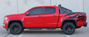 Side view 2018 Chevy Colorado Side Graphics ANTERO 2015-2020