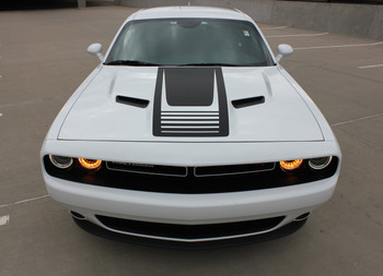 Dodge Challenger Side and Hood Decals CUDA STROBE 2011-2021