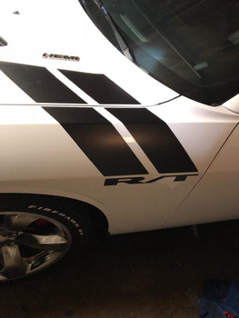 2017 Dodge Challenger Decals DOUBLE BAR 2008-2021