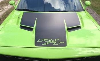 2018 Dodge Challenger Hood Decals CHALLENGE HOOD 2015-2020