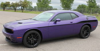 Dodge Challenger Body Line Vinyl Graphics ROADLINE 2008-2019