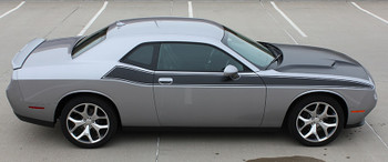 Passenger side R/T 392 Dodge Challenger TA Stripes PURSUIT 2011-2021