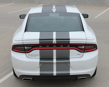 Rear view of 2020 Dodge Charger Rally Stripes N CHARGE RALLY 15 2015-2021