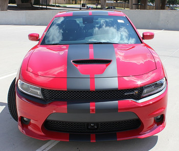 Dodge Charger SRT Carbon Fiber Hood N CHARGE RALLY
