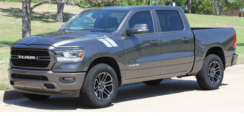 Profile Grey 2020 Ram 1500 Fender Stripes RAM HASHMARKS 2019-2020 2021