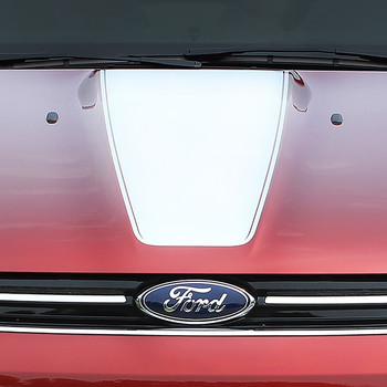 Ford Escape Center Hood Vinyl Graphics CAPTURE HOOD 3M 2013-2017