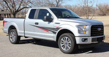 Side Vinyl Graphics for Ford F150 APOLLO 2015-2018 2019 2020