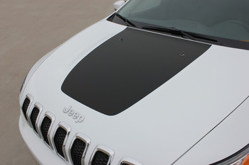 2017 Jeep Cherokee Hood Decal 3M T-HAWK HOOD 2014 2015 2016