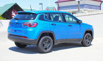 Rear of 2019 Jeep Compass Decals ALTITUDE 2017 2018 2019 2020