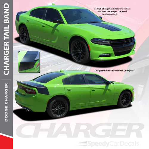 Dodge Charger Rear Graphic Design 3m Tailband 2015 2016 2017 2018