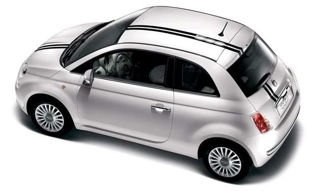 Fiat 500 Euro Offset Rally Stripes 3M EURO RALLY 2012-2019