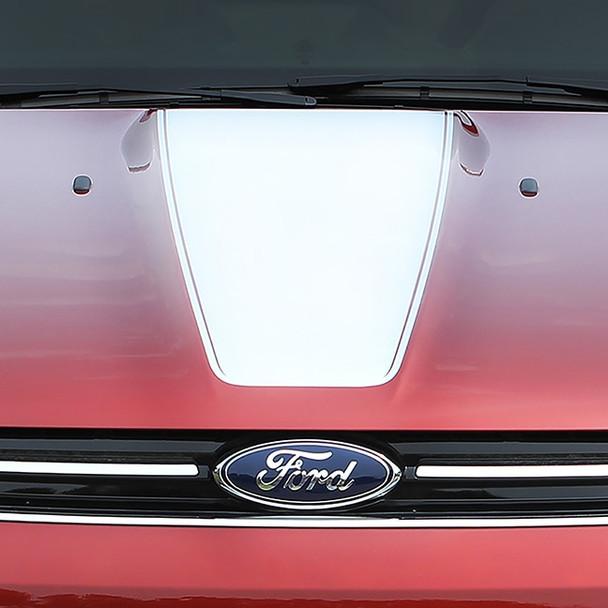 Ford Escape Center Hood Vinyl Graphics CAPTURE HOOD 3M 2013-2017