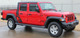 2020 Jeep Gladiator Side Body Decals OMEGA 3M Premium Wet Install