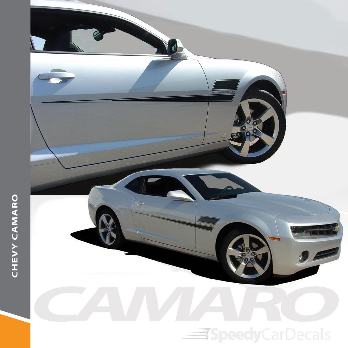 Speed Side 3M Pro Vinyl Stripes Graphics Decals 2010 2011 2012 2013 SS RS Camaro