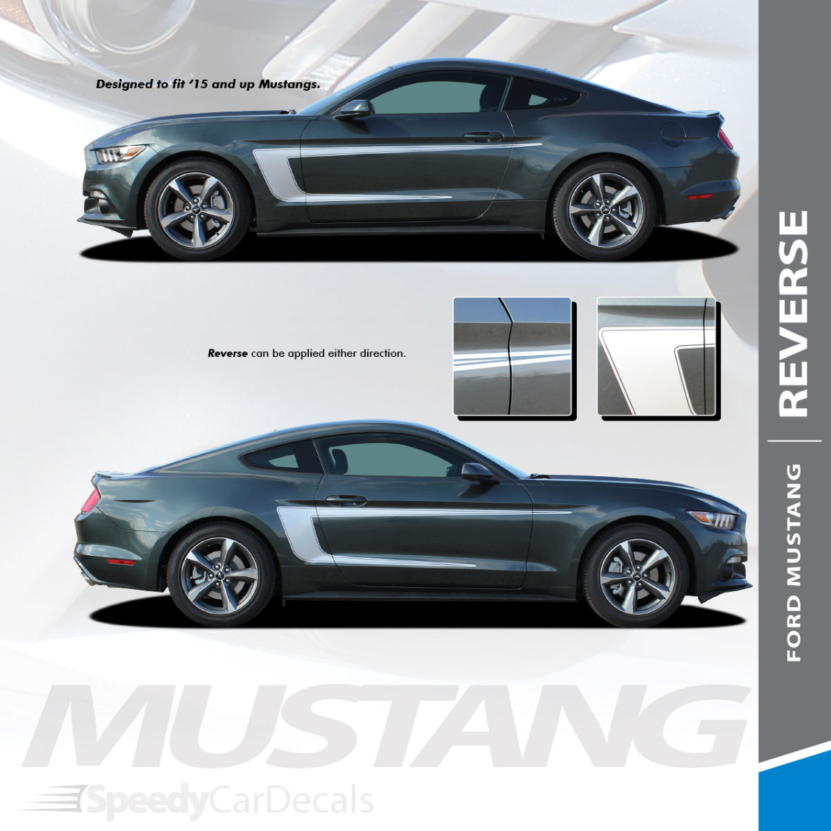 2015-2017 Ford Mustang Stellar Stripe Kit