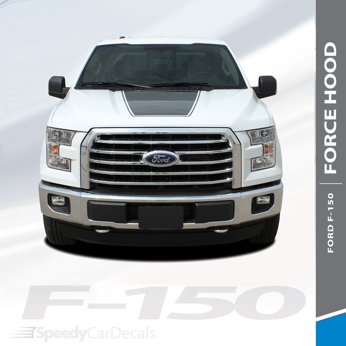 Force Hood Ford F 150 Decals Stickers Stripe 3m 2015 2019 Wet And