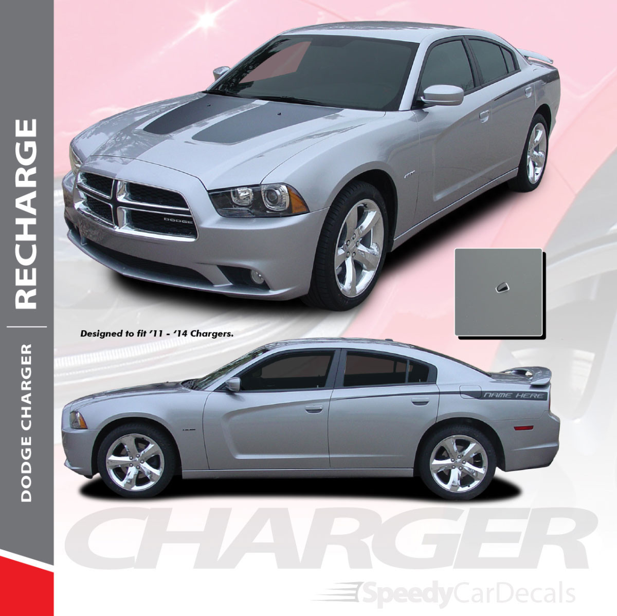 RECHARGE | 2011-2014 Dodge Charger RT With Stripes