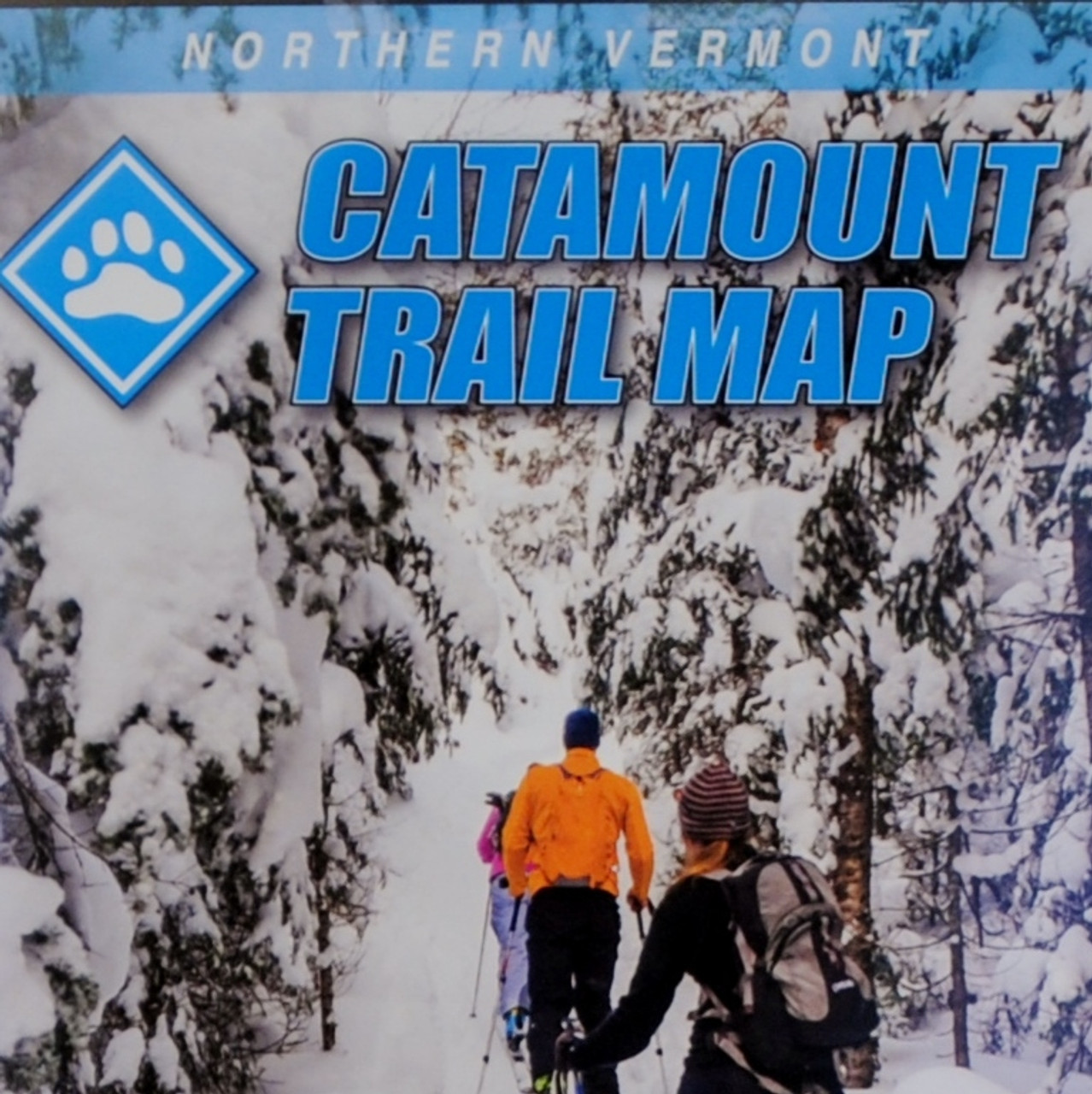 Northern Vermont Catamount Trail Map on map of cabela's, map of bass pro shops, map of vermont hiking trails,