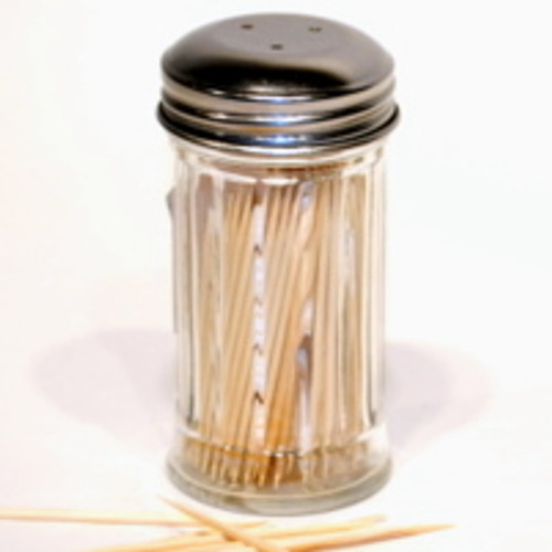 Glass Toothpick Dispenser