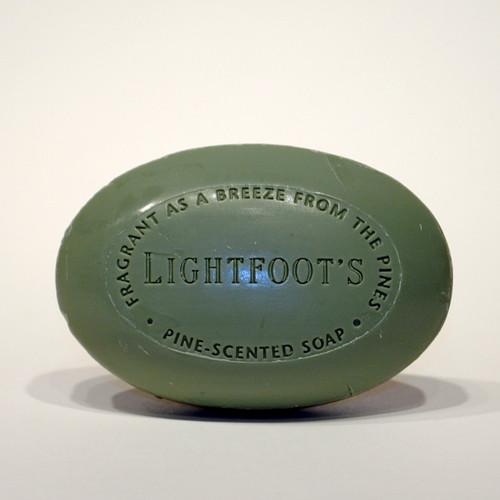Lightfoot's Pine Soap