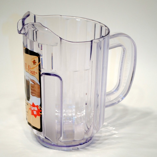 Plastic Pitcher 60oz