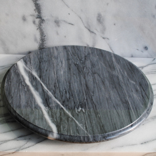 Gray Marble Lazy Susan