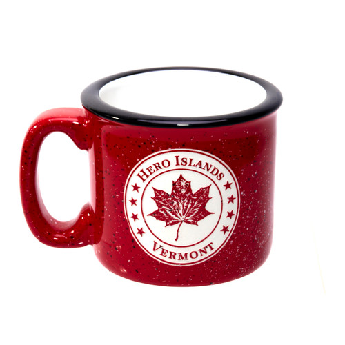 Hero Islands Red Mug
