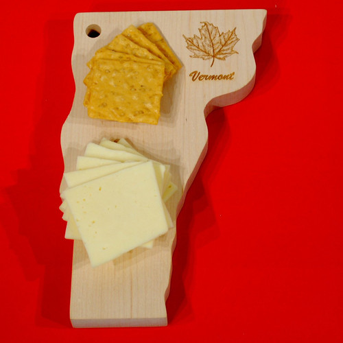 Vermont State Shape Cutting Board