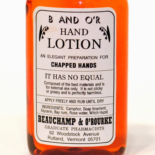 Chapped Hands Lotion
