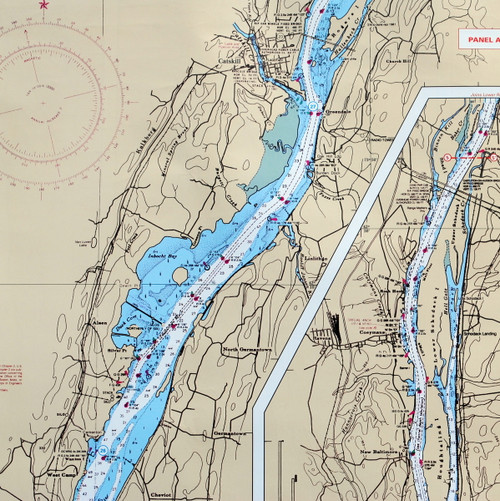 Waterproof Chart #57 Hudson River
