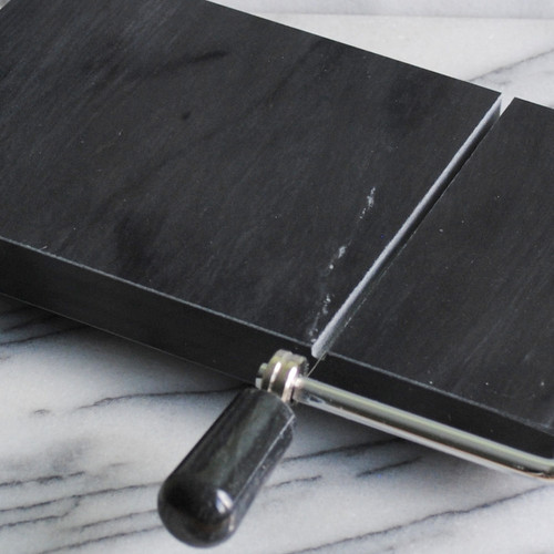Black Marble Cheese Slicer