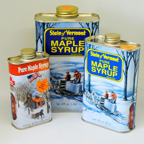 Vermont Maple Syrup Tin