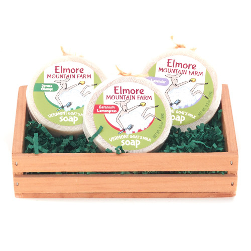 Elmore Mountain Farm Soap Basket