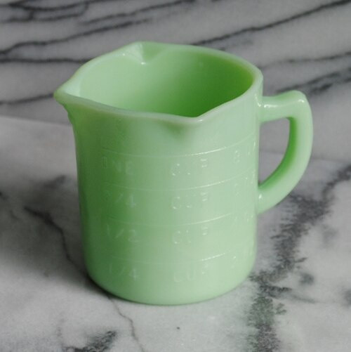 Jade Glass Measuring Cup