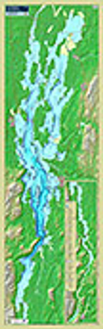 Lake Champlain Trak Map