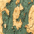 Lake Champlain Wood Chart 44x14''