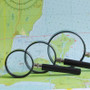 5x Handheld Magnifying Glass