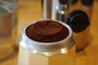 Dosacaffe puts just the right amount of ground espresso into any stovetop espreso maker
