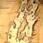 1765 Map of Lake Champlain