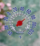 Cling Windowpane Outdoor Thermometer