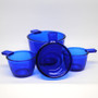 Cobalt Glass Measuring Cups