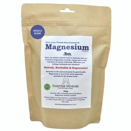 Essential Oil Magnesium Flakes Soak