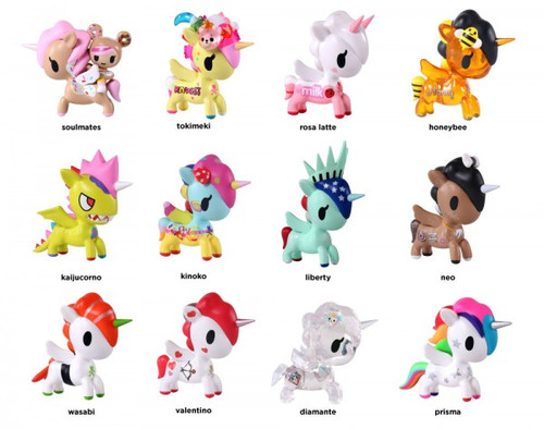 Tokidoki Unicorno Series 5 Blind Box Vinyl Figure (Random)